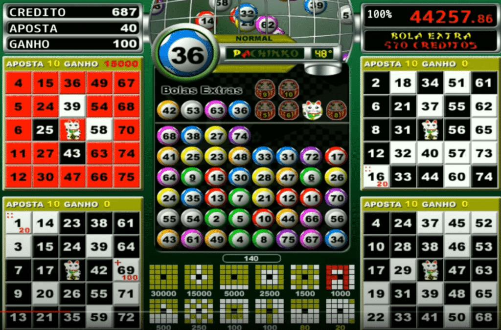 Jogo de bingo grátis